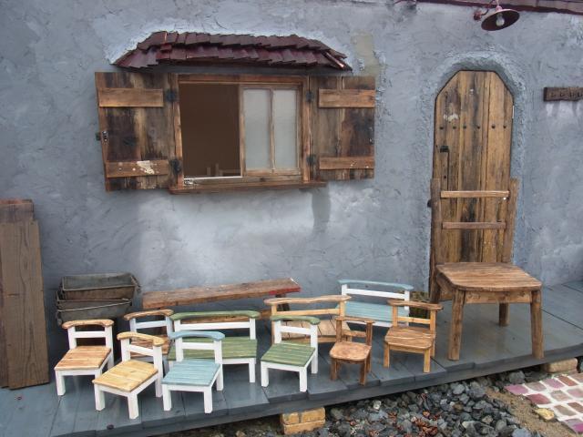 ハンドメイド木工品